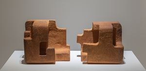 La casa del poeta IV by Eduardo Chillida contemporary artwork