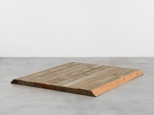 Mound by Richard Nonas contemporary artwork