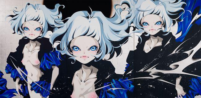 The Nornir-Trigonal Clone by Hiroyuki Matsuura contemporary artwork