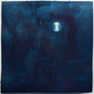 5 Noborizuki (Rising Moon/Waxing Gibbous) August 31 2020 by Miya Ando contemporary artwork