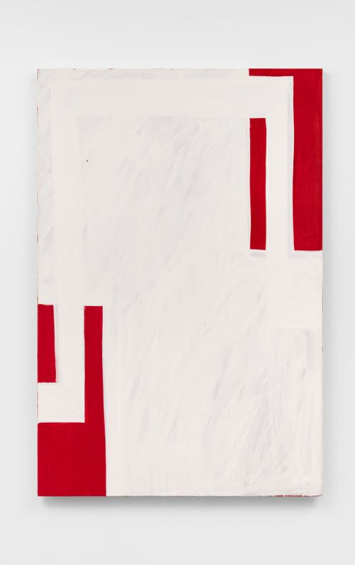 Miss Hunter by Mary Heilmann contemporary artwork