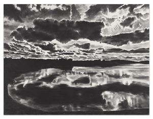 Horizon Light by April Gornik contemporary artwork painting, works on paper, drawing