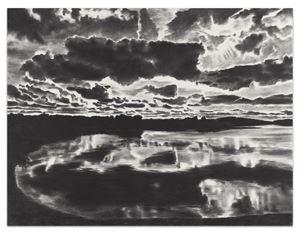 Horizon Light by April Gornik contemporary artwork