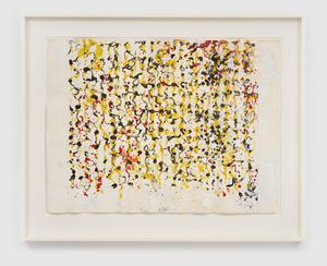 Large Letter Drawing by Brice Marden contemporary artwork