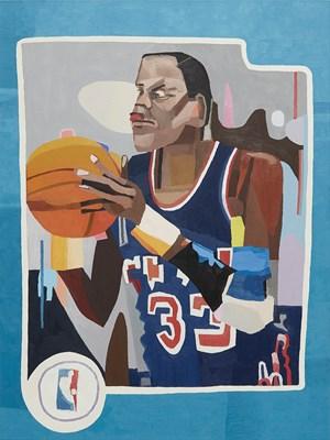 Ewing's Card by Jonas Wood contemporary artwork