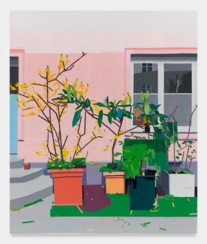 Courtyard by Guy Yanai contemporary artwork