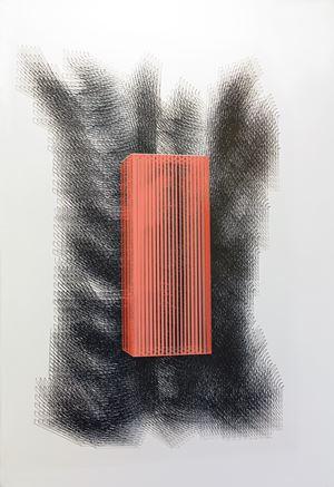 Installazione E-levarsi dal caos by Emanuela Fiorelli contemporary artwork