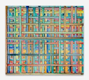 Ghor by Bernard Frize contemporary artwork
