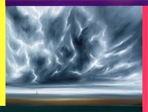 Wolkenlandschaft 2:30 Uhr by Titus Schade contemporary artwork