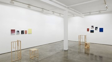 Contemporary art exhibition, Paul P., The Rex Prisms at Maureen Paley, London