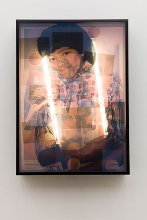 """Black People Explain """"The Facts of Life"""" To Me by Jibade-Khalil Huffman contemporary artwork"""
