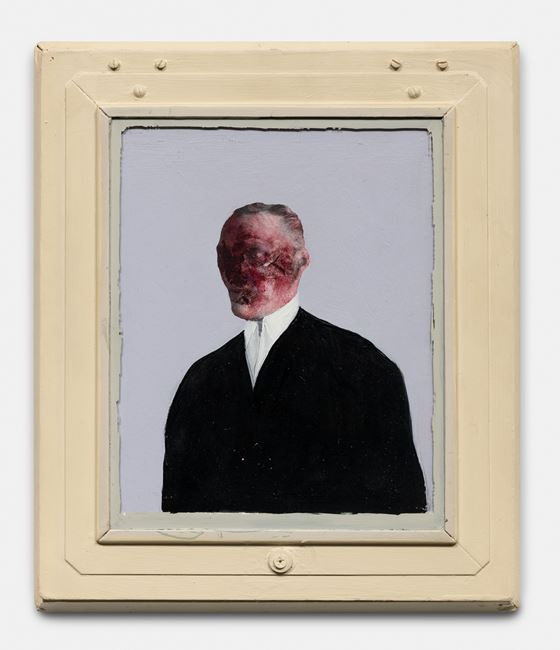 Portrait of Somebody by Llyn Foulkes contemporary artwork