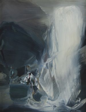 Sans titre by Chu Teh-Chun contemporary artwork