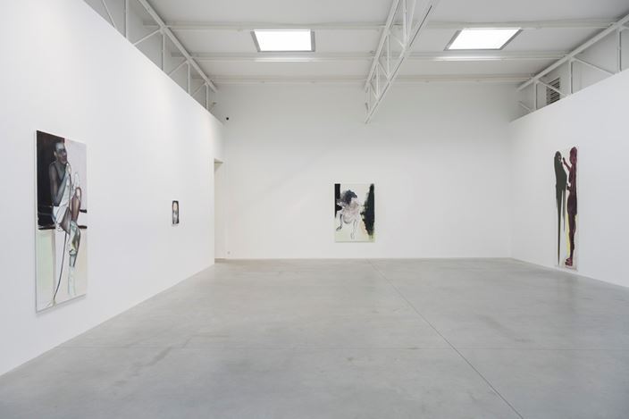 Exhibition view: Marlene Dumas, Double Takes, Zeno X Gallery, Antwerp (27 May–25 July 2020). Courtey Zeno X Gallery.