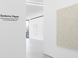 'Systemic Paper' at Blum & Poe, Tokyo
