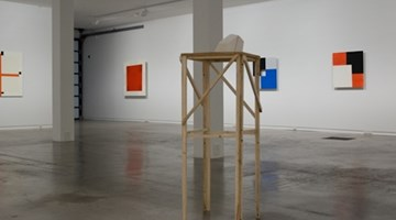 Contemporary art exhibition, Stephen Bambury, Noh Time at Two Rooms, Auckland
