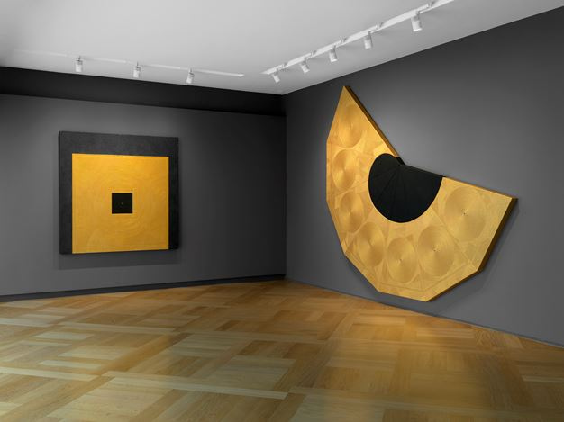 Exhibition view: Gianfranco Zappettini, The Golden Age, Mazzoleni, London (7 February–11 April 2020). Courtesy Mazzoleni London-Torino.