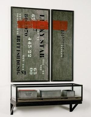 L'Autel - Rouge, blanc, noir by Chen Zhen contemporary artwork