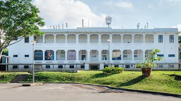 Gillman Barracks contemporary art institution in Singapore
