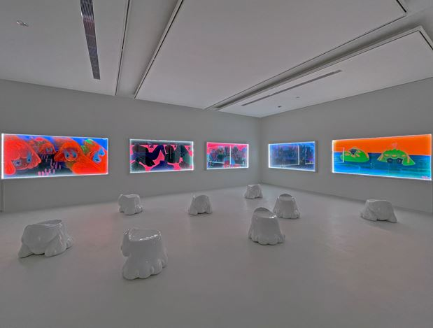 Exhibition view: Yeo Kaa, From the Comfort of My Own Home, Yavuz Gallery, Singapore (3–23 December 2020). Courtesy Yavuz Gallery.