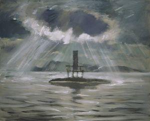 Dusk of the Parent - Solitary Island No.3 by Mao Xuhui contemporary artwork