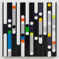 Property Must Be Seen as Compensation [Sound Graph] by Sarah Morris contemporary artwork painting