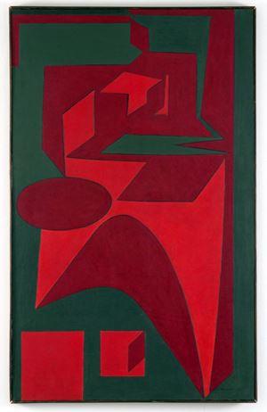 Tengrinor by Victor Vasarely contemporary artwork
