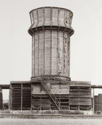 Cooling Tower [Kühlturm], Mons, Borinage, B by Bernd & Hilla Becher contemporary artwork photography