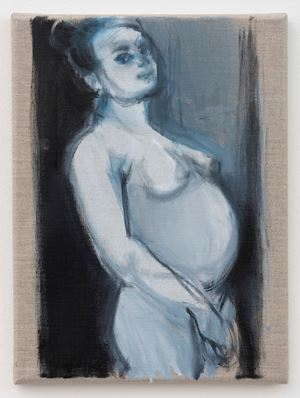 Helena Michel by Marlene Dumas contemporary artwork