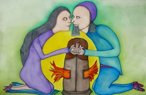 Alchemical Love by PascALEjandro contemporary artwork