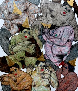 No stranger No. 3 by Anuwat Apimukmongkon contemporary artwork