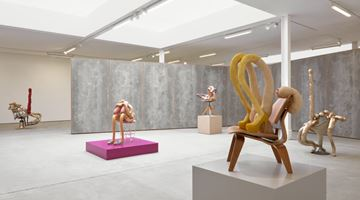 Contemporary art exhibition, Sarah Lucas, HONEY PIE at Sadie Coles HQ, London
