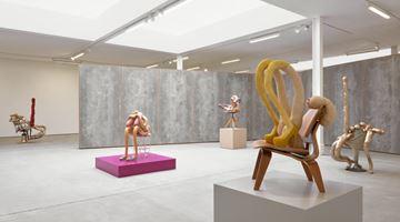 Contemporary art exhibition, Sarah Lucas, HONEY PIE at Sadie Coles HQ, Kingly Street, London