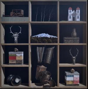 Waimarino County by Michael Hight contemporary artwork