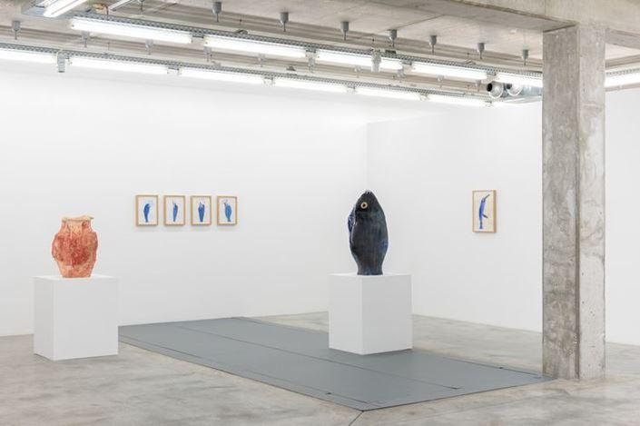 Exhibition view: Miquel Barceló,TOTEM, Almine Rech, Brussels (5 September–18 October 2019). Courtesy the Artist and Almine Rech. Photo © Hugard & Vanoverschelde Photography.