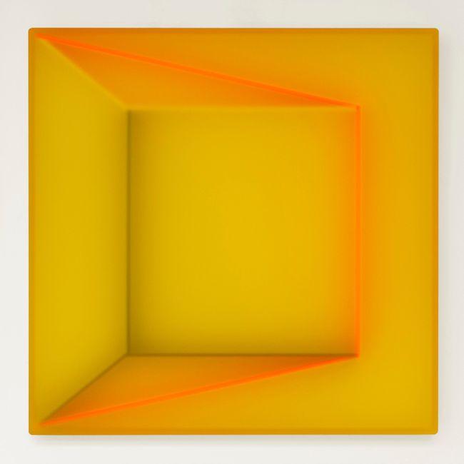 Yellow Room by Kāryn Taylor contemporary artwork