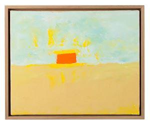 Horizon 5 by Etel Adnan contemporary artwork
