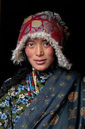 Pilgrim, Amdo, Tibet by Steve McCurry contemporary artwork