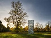 Conrad Shawcross discusses 'Monolith (Optic)', on view as part of Frieze Sculpture Park until 8 January 2017