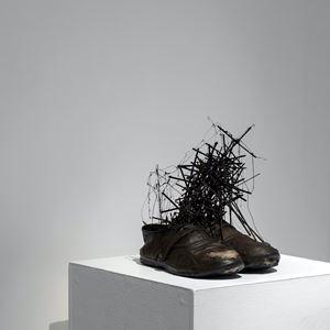 108 crosses - No.18 by Mitsugu Sato contemporary artwork
