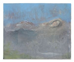Eternal assumption of a waking dream by Sophie Reinhold contemporary artwork painting
