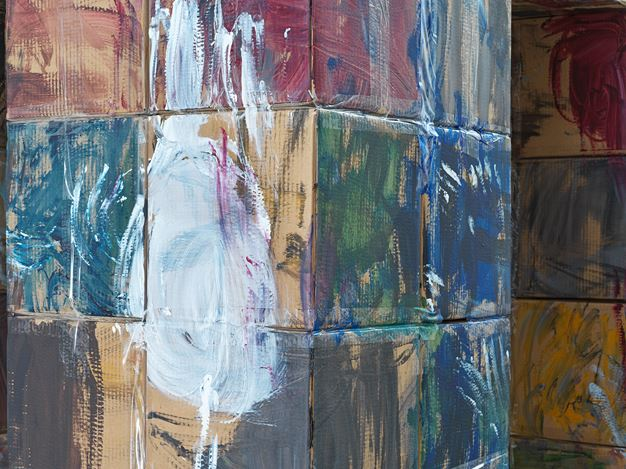 Exhibition view: Enli Zhang, Xavier Hufkens, 107 rue St-Georges, Brussels (6 September–19 October 2019).Courtesy Xavier Hufkens.