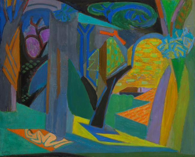 Bain de soleil sous bois by André Lhote contemporary artwork