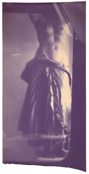 Caryatid by Francesca Woodman contemporary artwork