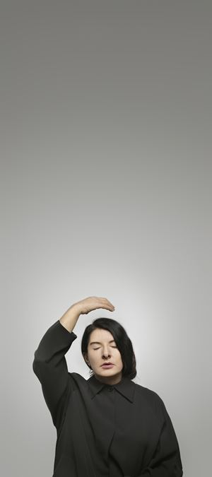 """Ecstasy II (A) (from the series """"With Eyes Closed I See Happiness"""") by Marina Abramović contemporary artwork"""
