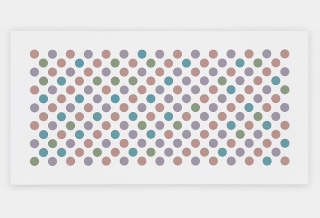 Study for Measure for Measure 40 by Bridget Riley contemporary artwork