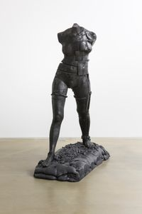 Anthropometry - Walking Woman by ByungHo Lee contemporary artwork sculpture