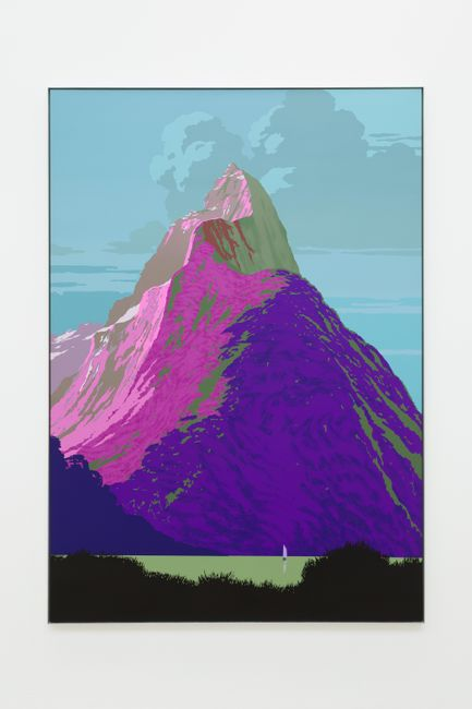 Weather Channel (Dusk) by Alex Dordoy contemporary artwork