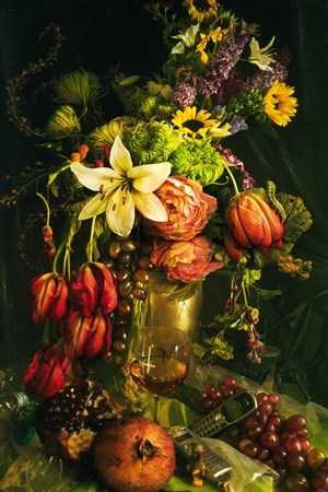 Early Fall, from the series Earth Laughs in Flowers, Los Angeles by David LaChapelle contemporary artwork