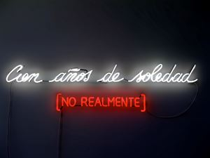 Cien Años De Soledad (No Realmente) by Alfredo Jaar contemporary artwork